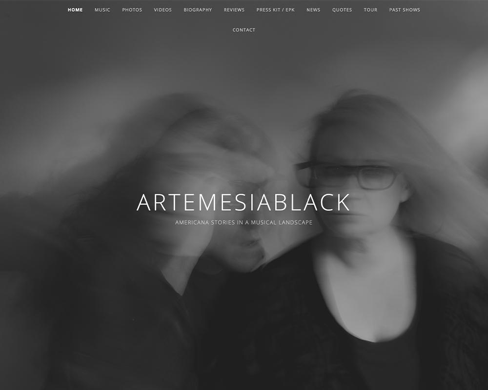 artemesia black website