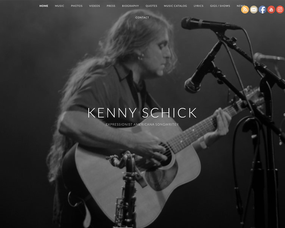 Kenny Schick website