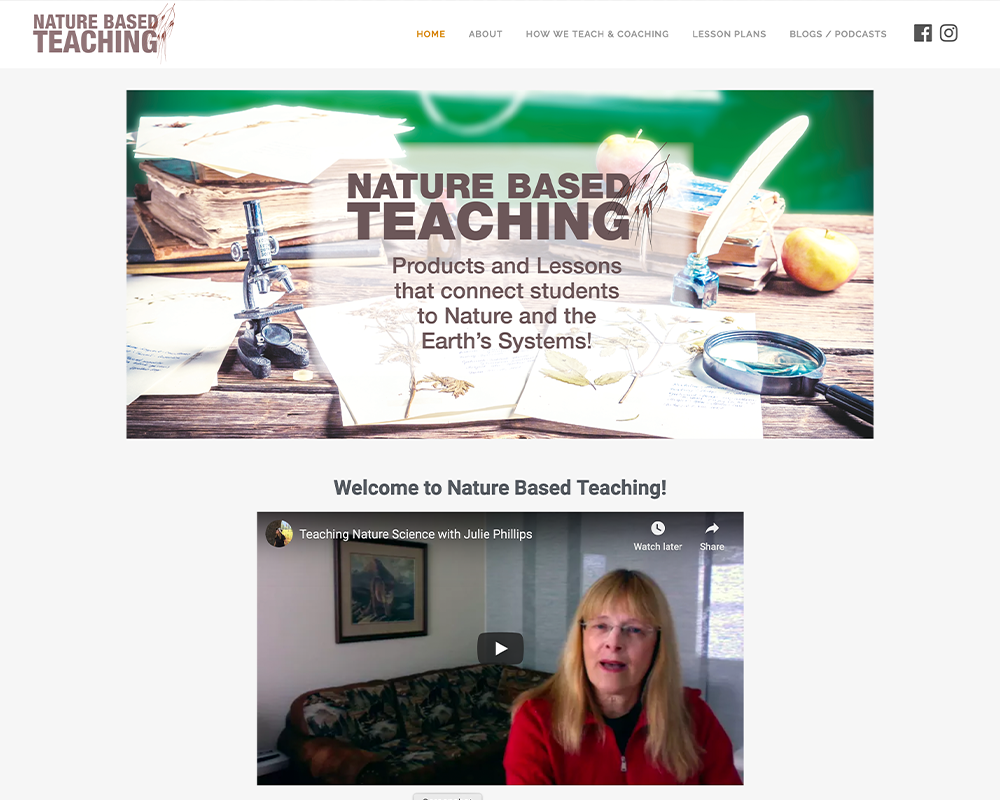 Nature Based Teaching